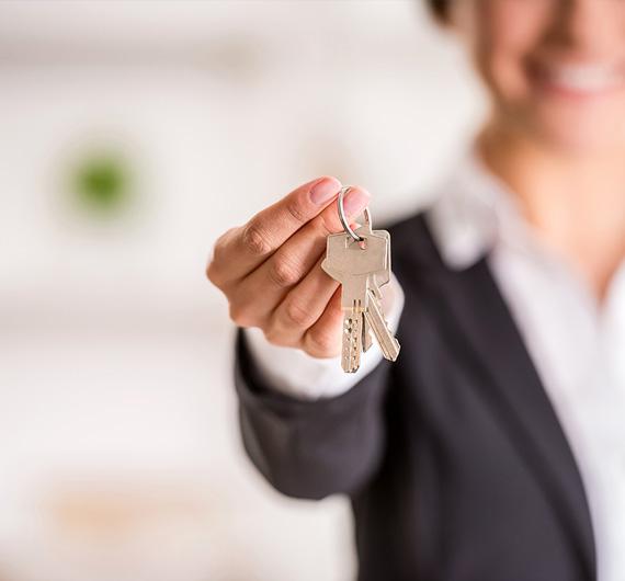 Przekazanie kluczy i przejęcie własności